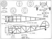 Cessna C-165 Airmaster model airplane plan
