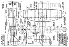 Cessna CR2 24in model airplane plan