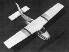 Cessna Cardinal model airplane plan