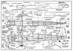 Challanger model airplane plan