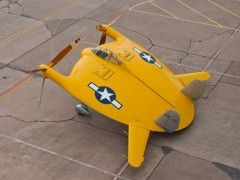 Chance Vought V-173 model airplane plan