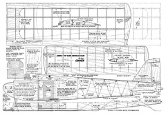Charger 48in AM 01 1960 model airplane plan