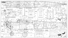 Charger Ambroid 48in model airplane plan