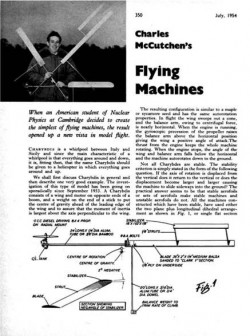 Charybdis model airplane plan