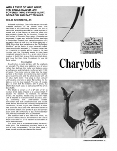 Charybdis 582 model airplane plan