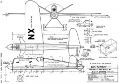 Chatterbox 31in model airplane plan