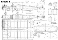 Cheri 2 model airplane plan