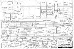 Cherokee model airplane plan