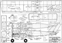 Cherokee Babe VK model airplane plan