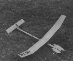 Chez Coupe model airplane plan