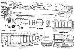 Chieftain model airplane plan