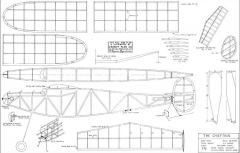 Chieftain Rubber model airplane plan
