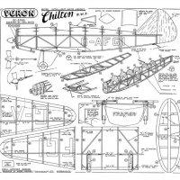 Veron Hawker Fury Plans - AeroFred - Download Free Model Airplane Plans