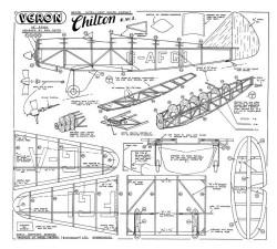 Chilton DW1 model airplane plan