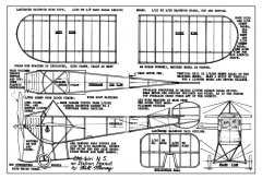 Chiribiri N5 Mooney peanut model airplane plan