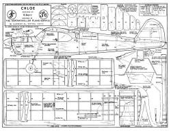 Chloe model airplane plan