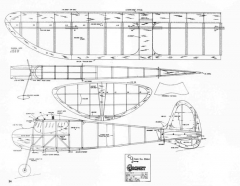 Chuck Gill Coronet model airplane plan