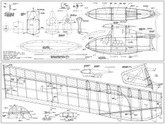 Cicogna model airplane plan