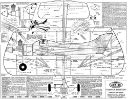 Circle Master model airplane plan