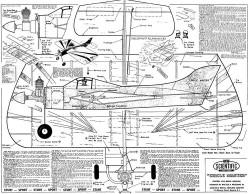 Circle Master model airplane plan