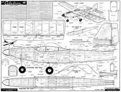 Citation Jetco model airplane plan