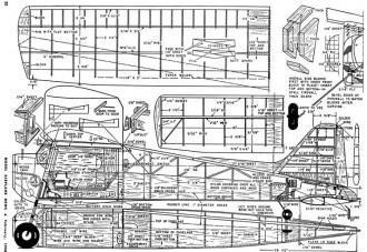Citizen Plan model airplane plan