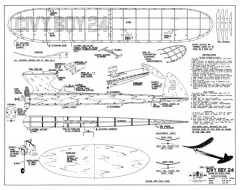 Civy Boy 24 model airplane plan