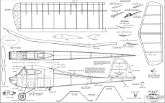 Class A Baby Bombshell model airplane plan