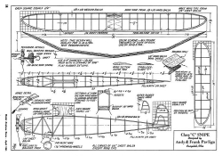 Class C Snipe-MAN-04-41 model airplane plan