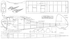 Classy Gassie 52in model airplane plan