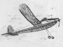 Clodhopper model airplane plan