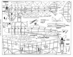 Cloud Buster model airplane plan