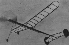 Cloud Chaser model airplane plan