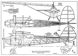 Cloud Cruiser model airplane plan