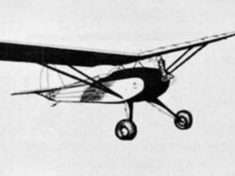 Cloud Cruiser model airplane plan