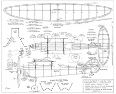 Cloudcraft Mercury model airplane plan