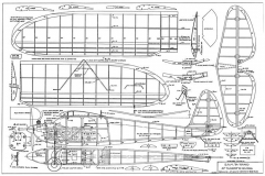 Cloudster 50 model airplane plan