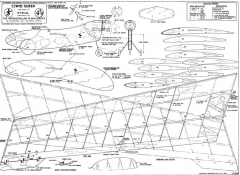 Clywd Queen model airplane plan