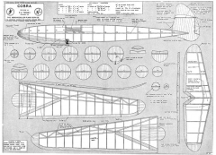 Cobra 48in model airplane plan