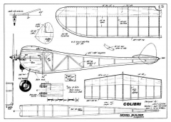 Colibri 2 model airplane plan