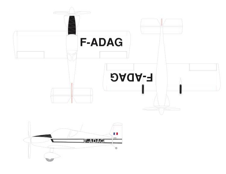 Colibri-Peanut-Arno-Diemer-vec model airplane plan