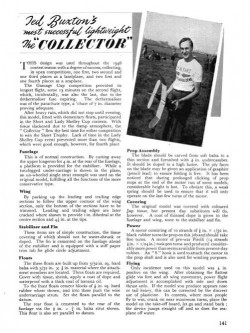 Collector model airplane plan