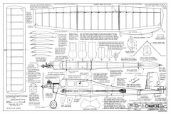 Comanche model airplane plan