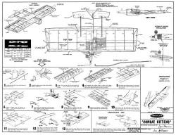 Combat Kittens model airplane plan