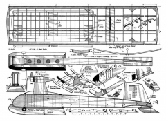 Combo model airplane plan