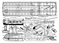 Combo model airplane plan