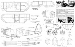 Comper Swift 24in model airplane plan