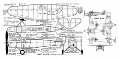 Comte AC-12E model airplane plan
