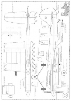 Condor CL model airplane plan