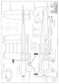 Condor CL model airplane plan